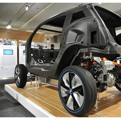 BMW i3 carbon chassis